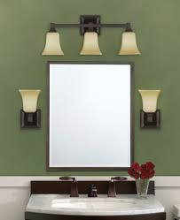 Bathroom Mirrors And Lighting Ideas Bathroom Sconces Above Mirror Creative Bathroom Decoration