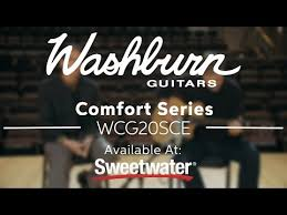 Washburn Comfort Series Washburn Comfort Series Wcg20sce Acoustic Electric Guitar Demo By