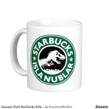 Cool Mug Designs by Jurassic Park Starbucks Side Logo Coffee Mug Nerd Stuff