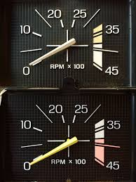 84 Ford Diesel Truck - tachometer differences with engineering numbers ford truck