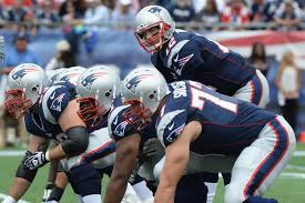 have the patriots offensive linemen been helping tom brady back to