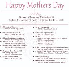 mothers day pampering package urban wellbeing