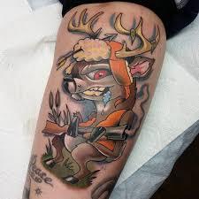 cool hunting tattoo creativefan