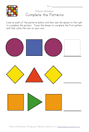 easy pattern worksheet 2c the mommy talks