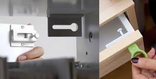 covert magnetic security drawer latch the green head