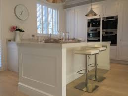 modern shaker painted bespoke kitchen made in sheffield
