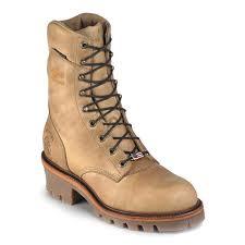 Are Logger Boots Comfortable Chippewa 25406 Usa Soft Toe Non Insulated Super Logger Boots