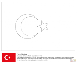 turkey flag coloring page businesswebsitestarter com