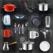 Kitchen Utensils Design by Kitchen Utensils Design Elements Vector Set 02 Vector Life Free