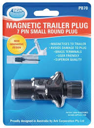 7 pin quick assembly small round trailer plug