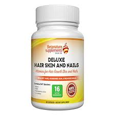 deluxe vitamins for hair skin nails vitamin supplements for hair grow