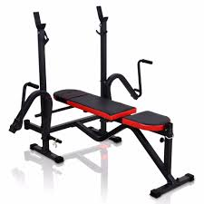 adjustable bench with racks and butterfly machine 145 35