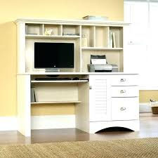 Desk With Hutch Cheap Small White Computer Table Computer Desk With Silver Legs