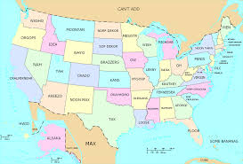 United States Map With State Names by Ohio Is The Only Flag In The United States With 136362711 Added