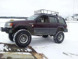 jeep grand cherokee lifted lifted 1994 jeep grand cherokee on 35s