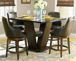 Bar Top Table Sets Bar Height Dining Table Set With Bench Decorate High Room Sets