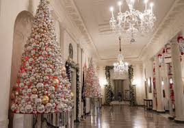 White House Interior Pictures by The Obamas U0027 Final White House Holiday Decorations Are Next Level