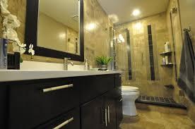 bathroom modern head shower glass shower divider bathroom space