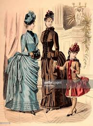 vintage fashion illustration pictures getty images