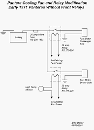 electric fan relay wiring diagram diagram wiring diagrams for