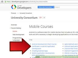 learn android development how to learn about android app development 6 steps