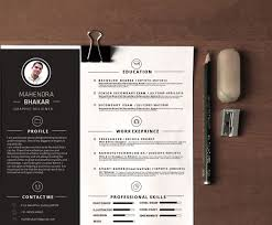 Resume Samples Monster by 10 Gorgeous Minimalist Resume Templates The American Genius