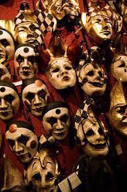 carnaval masks carnival of venice