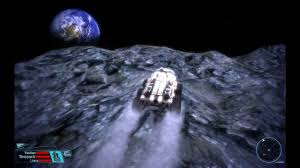 Moon Flag From Earth Mass Effect Luna The Moon Youtube