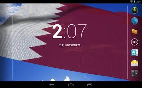 Picture Of Qatar Flag 3d Qatar Flag Live Wallpaper Android Apps On Google Play