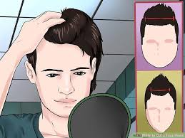 how to cut womens hair with double crown how to cut a faux hawk with pictures wikihow