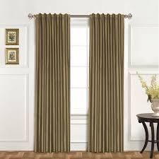 Silk Dupioni Curtains United Curtain Co Dupioni Silk Back Tab Curtain Panel Jcpenney