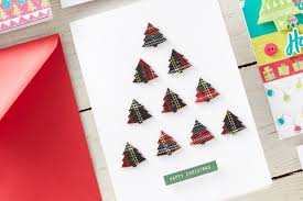 Paper Craft Christmas Cards - how to make a wreath christmas card hobbycraft blog
