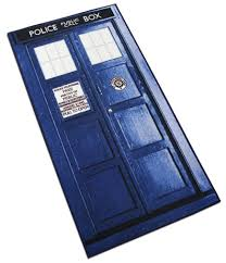 amazon com doctor who xl rectangle tardis rug 6ft kitchen u0026 dining