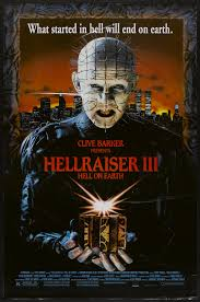 hellraiser iii hell on earth 1992 movie posters 1990s