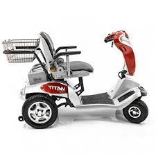 tzora titan 4 hummer xl folding 4 wheel electric mobility scooter