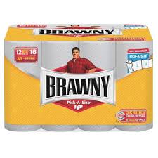 Pick Sheets Brawny Industrial Paper Towels 2 Ply 102 Sheets Per Roll 12 Pack