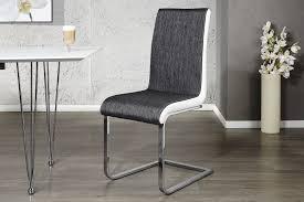 Chaise Design Noir Et Blanc by Chaises Royale Deco