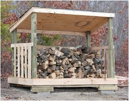 Plans To Build Wood Storage - how to build a firewood shed for under 80 could also be a
