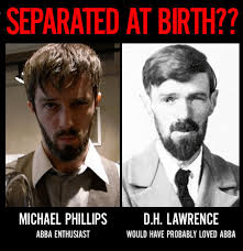Lawrence Meme - separated at birth michael phillips d h lawrence