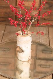 wood log vases 11 best wood vases images on birches woodland wedding