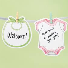 baby shower autograph plate clothesline autograph garland kit baby shower baby