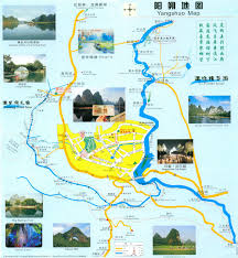 Guilin China Map by Guilin Map