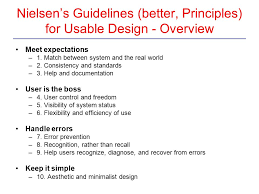 design principles guidelines and theories ppt download