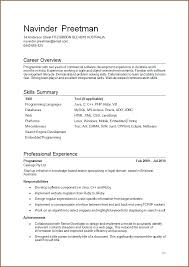 Salesforce Developer Resume Samples by C Developer Resume