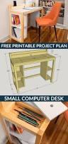 Small Computer Desk Plans Singular Computer Desk Plans Photo Inspirations Free