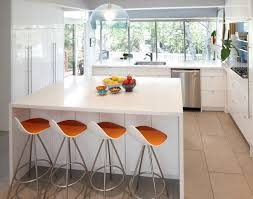 kitchen bar counter ideas beautiful orange barstool to set with white kitchen bar counter