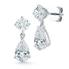 teardrop diamond earrings diamond earrings costco
