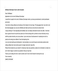 software engineer cover letter software developer cover letter 6 software developer cover letters