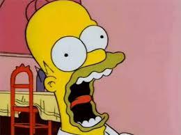 Meme Generator Homer Simpson - scared homer simpson blank template imgflip