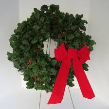 live christmas wreaths fresh american christmas wreath 16 diameter ebay